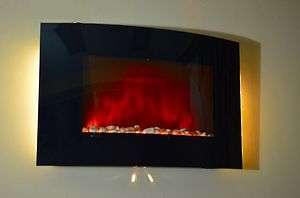 Wall Mounted Fireplace Heater Backlight KD 520APB 022099871101