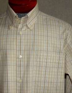 TASTEFUL MENS BEN SHERMAN DRESS OR CASUAL SHIRT XL 17 33 EXTRA NICE