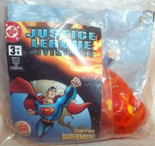 BURGER KING TOY   DC JUSTICE LEAGUE ADVENTURES   SUPERMAN
