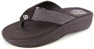 NEW Skechers Tone Ups Jazzy Fresh Womens Wedge Sandal 37631 Brown