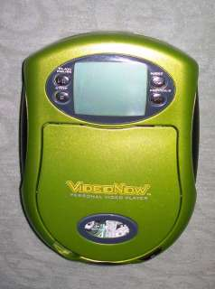 Green Video Now Personal Player Electronic Handheld Toy + Disk