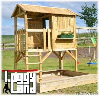 stelzenhaus selber bauen bauanleitung ansitzleiter. Black Bedroom Furniture Sets. Home Design Ideas