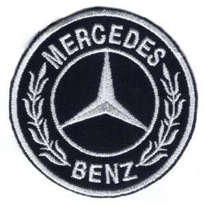 Logo Aufnäher / Iron on Patch  Mercedes Benz   Auto