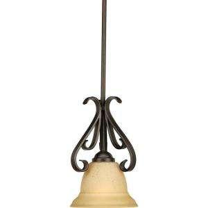 Forged Bronze 1 Light Mini Pendant P5153 77