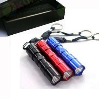 3W Mini cree LED flashlight torch for outdoor camping travel survival
