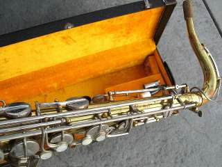 Vintage Revelle Holland Tenor Saxophone Sax Outfit