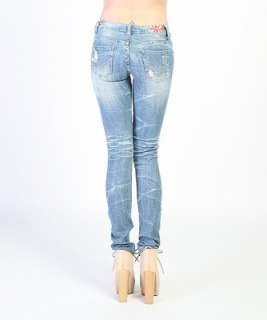 SKINNY JEANS Sexy Low rise Ripped Straight DENIM PANTS NEW