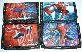 NEW SPIDERMAN Tri fold Wallet for BOY KIDS