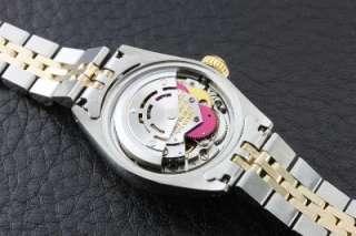 Genuine Ladies Rolex 18K Yellow Gold/SS Datejust Watch w/ Champagne