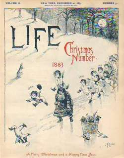 1883 Life December 20 Santa Claus; Mermaids; Christmas