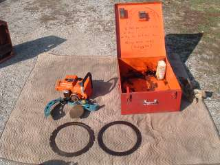 Ring Saw Fire Rescue/Emergency Cuts Metal/Wood Gas Power 2 Cycle