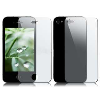 For iPhone 4 4G 4S Back & Front Screen LCD Protector Film Full Body