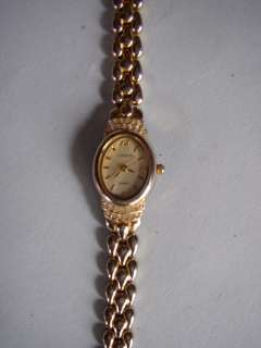 Adolfo Ladies Goldtone Watch