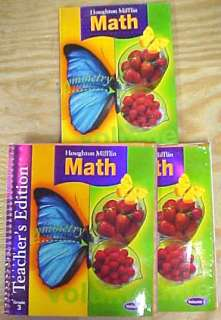 Houghton Mifflin Math Student Book & Adult Guides Gr 3