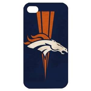 NEW Denver Broncos 1 Image in iPhone 4 or 4S Hard Plastic Case Cover