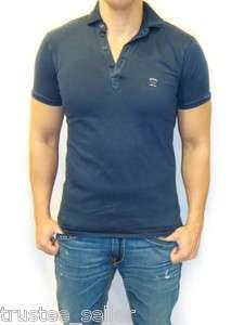 BNWT Diesel Brand Mens Work Wear T   RICHIES   S Jersey Polo Tee Shirt