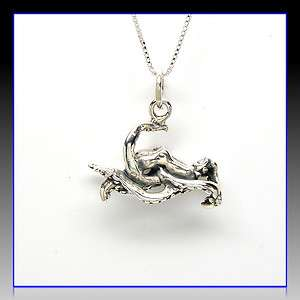 Solid Sterling Silver Necklace Octopus Charm Pendant Gift USA SC26086