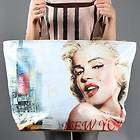 Extra Large Marilyn Monroe New York Iconic Women Tote Shoulder Bag