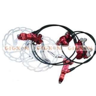 ZOOM HB850 Hydraulic Disc Brake 160 Rotor C112 Red
