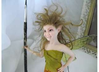BAD Fairies Ooak Faerie Fairy Sculpture by Sowelu