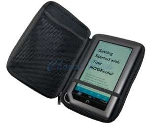 Nook Color ZIP PROTECTOR Hard Case Black