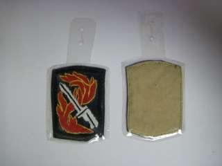 ph60 Vietnam US Army 198th Lt. Infantry Pocket Hanger