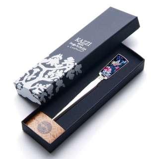 MOP Flower Butterfly Design Metal Steel Desk Sword Knife Envelope