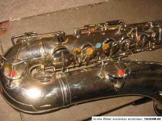 Nice vintage Bruno N.Y. Perfection Tenor Saxophone (by Conn)