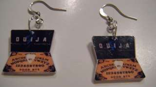 Ouija Board Earrings Jewelry Unique game Freaky cool