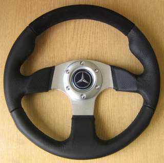 Leather Steering Wheel MERCEDES W124 C124 124 coupe