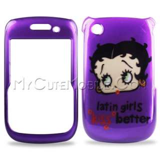 BlackBerry Curve 8520 8530 9300 9330 Case   Latin Girls Kiss Better