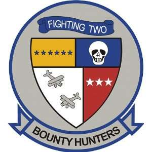 US Navy VF 2 Bounty Hunters Squadron Decal Sticker 3.8 6