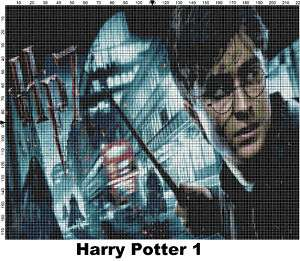 Harry Potter Counted Cross Stitch Patterns