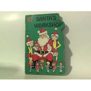 Santas Workshop (Honey Bear Board Books) (9780874491838