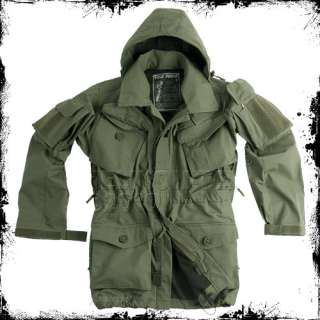 BRITISH ARMY FIELD PARKA WINDPROOF JACKET OLIVE S XXL
