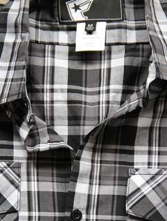 Famous Stars & Straps JACK KNIFE Checked Short Sleeve Shirt