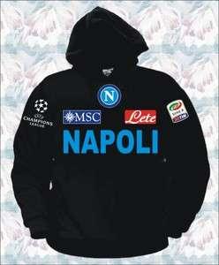 FELPA NAPOLI CHAMPIONS LEAGUE t shirt maglia lavezzi cavani hamsik