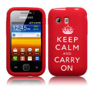 & CARRY ON Case For Samsung Galaxy Y S5360 + Screen Protector