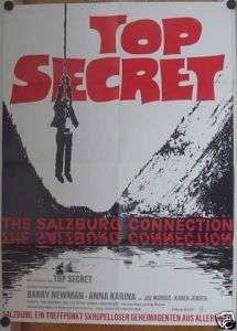 TOP SECRET THE SALZBURG CONNECTION (Pl. 72)