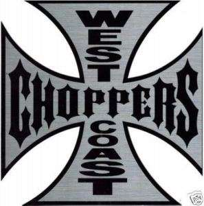 autocollant geant 36/36 cm West Coast Choppers harley