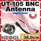 nagoya dual band ut 105 bnc mobile antenna for ham radio vhf uhf 2m