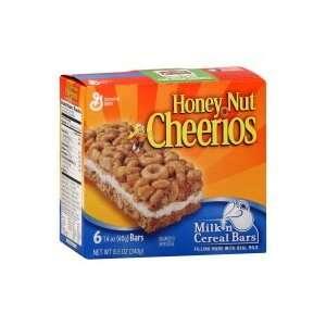 General Mills Milk n Cereal Bars, Honey Nut Cheerios, 8.5 oz, (pack