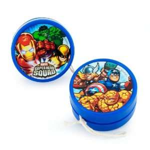 Lets Party By Hallmark Marvel Super Hero Squad Yo Yos