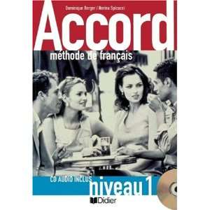 Accord, Livre de l eleve, m. Audio CD (9783464697580
