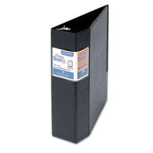 Stride 29051   Quick Fit D Ring Binder, 3 Capacity, Black
