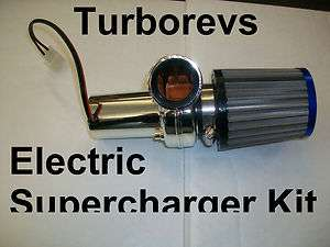 ELECTRIC TURBO SUPERCHARGER KIT 49CC 50CC SCOOTER MOPED PIT DIRT MINI