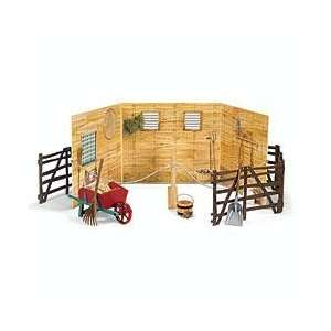 American Girl Colonial Stable set New!