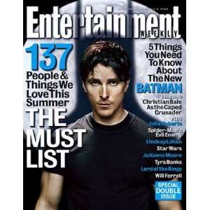 Entertainment Weekly Magazine #771/772 : The Must List