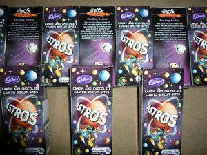 South African Cadbury Astros candy & Chocolate coate candy sweets box