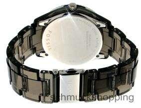 FOSSIL Uhr Damenuhr ES2454 Uhren Kristalle black magic